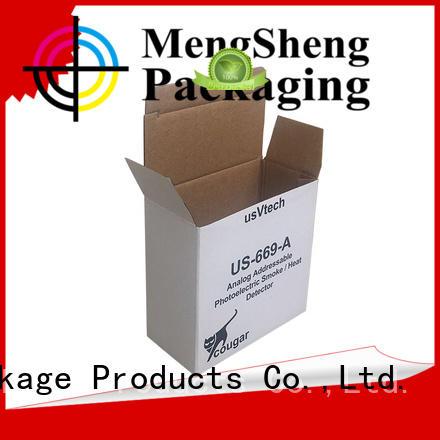 Mengsheng kraft cardboard cupboard shipping clothing garment packing