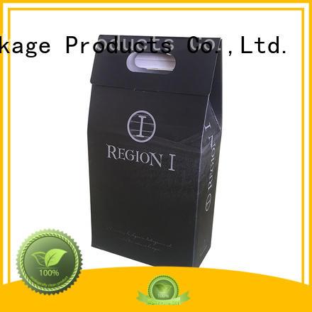 Mengsheng wine bottles shipping carton convenient