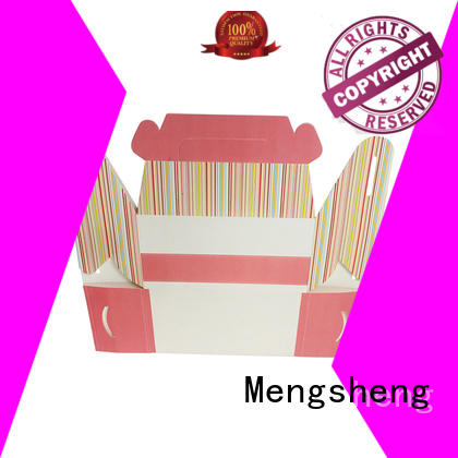 Mengsheng pvc cupcake packaging rectangular at discount