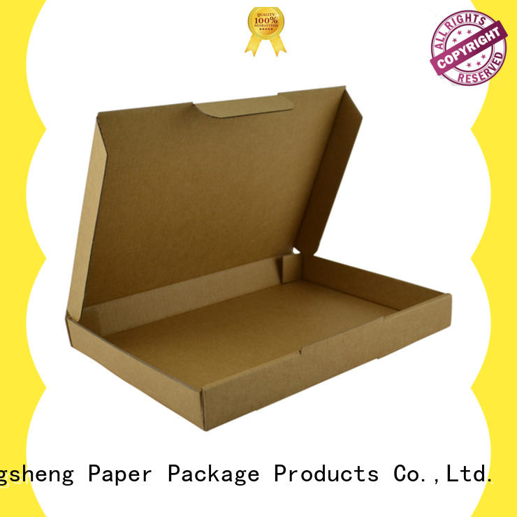 corrugated custom packaging boxes with logo strong custom design Mengsheng