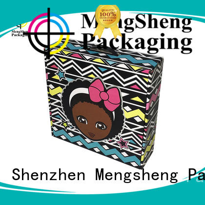 Mengsheng printing corrugated box factory strong eco friendly