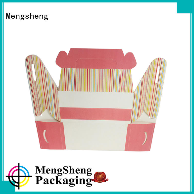 Wholesale cheap white gift boxes with lids pink colour ectronics packing