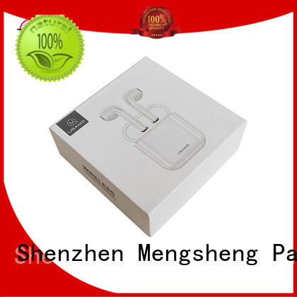 Mengsheng stamping card box with lid ribbon design for wholesale