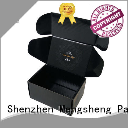 stamping branded boxes and packaging printed cardboard convenient Mengsheng
