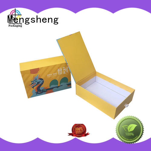 Mengsheng clothing shipping custom product boxes reversible top brand