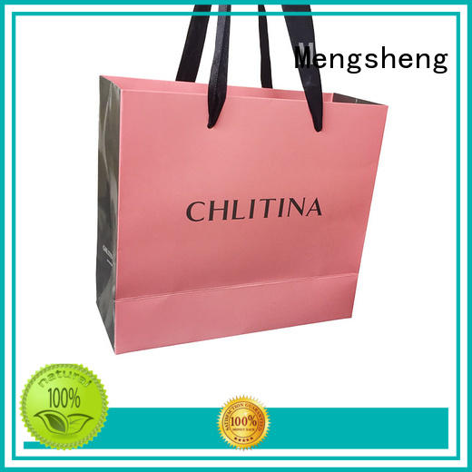 Mengsheng customized paper favor boxes free sample with handles