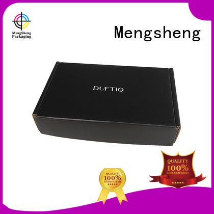 Mengsheng corrugated gift mailing boxes convenient