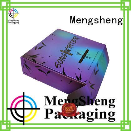 Mengsheng wine bottles corrugated box factory printed cardboard convenient