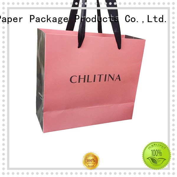 at discount large paper bags shopping on-sale with ribbon