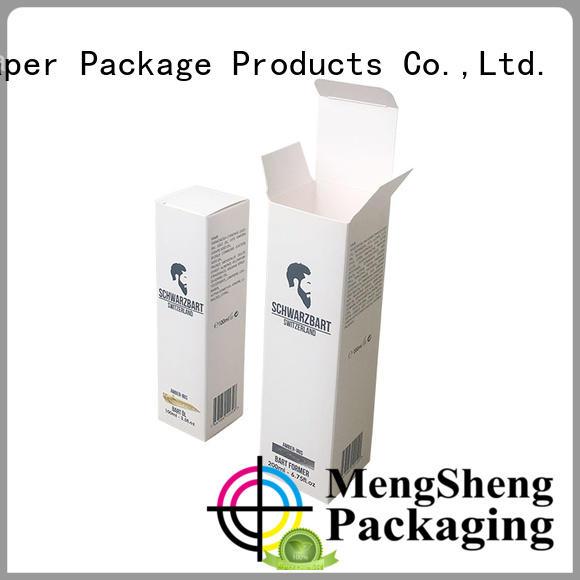 Mengsheng folding perfume sample box cheapest price for sale