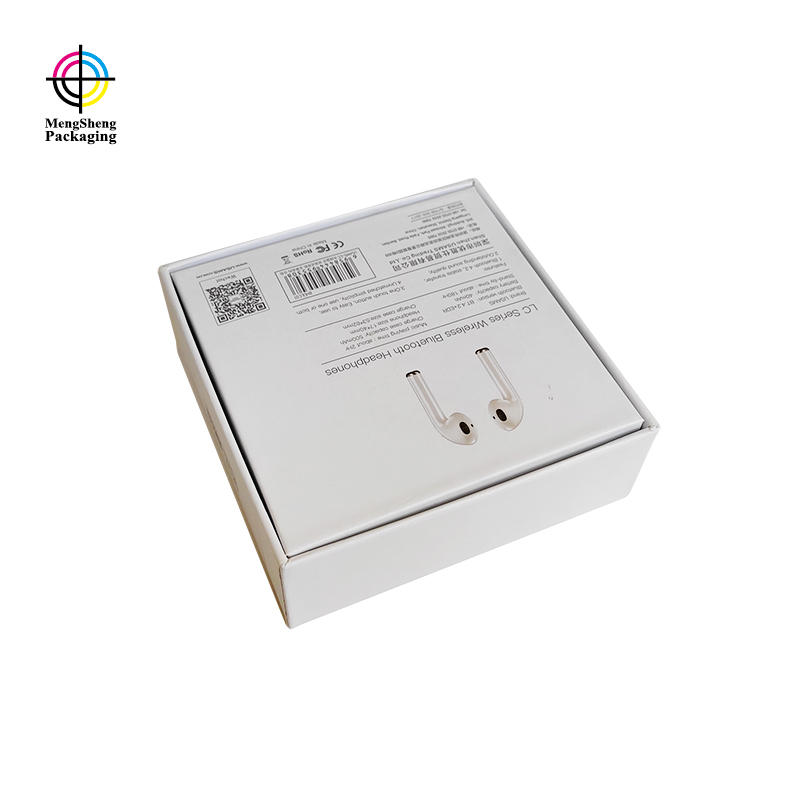 Mengsheng ecofriendly card box with lid ribbon design for wholesale-3