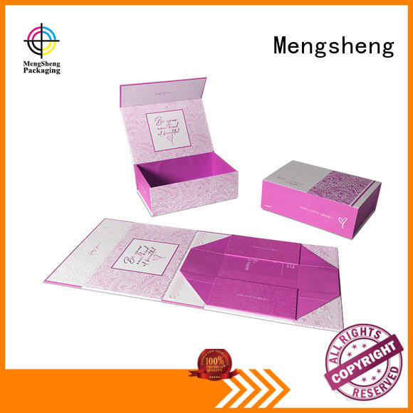 Mengsheng at discount white magnetic box printing for toy storage