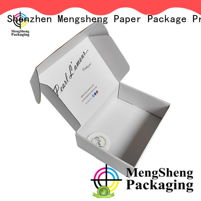 high quality branded shipping boxes printed cardboard convenient