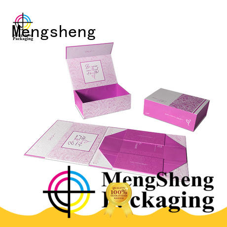 clear window magnetic lid gift box new carton printed clothing shipping