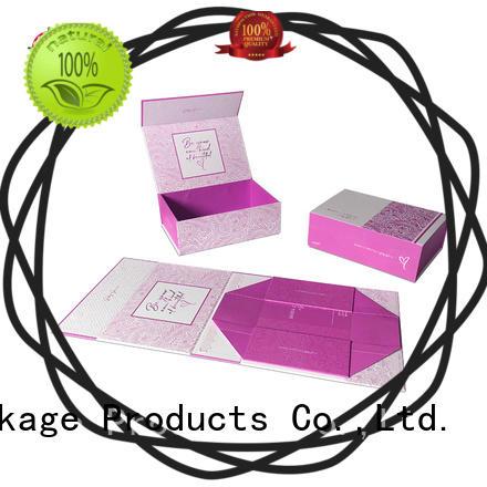 Mengsheng hot-sale small folding gift boxes waterproof garment packing