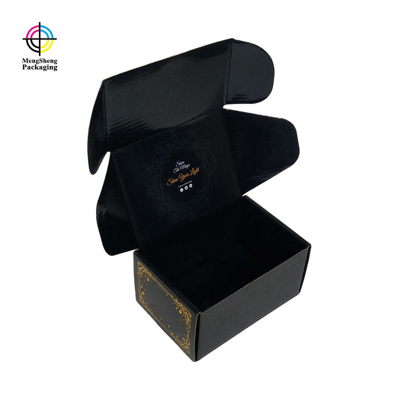 Mengsheng strong mailer box clothing packing custom design-3