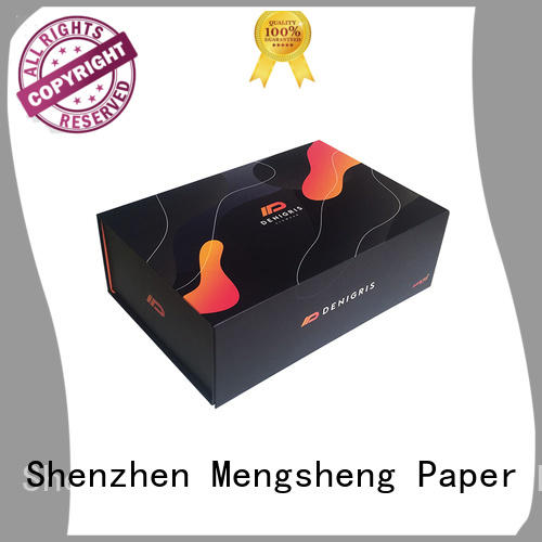 foldable paper box magnet gift for florist rose  bouquet flower waterproof