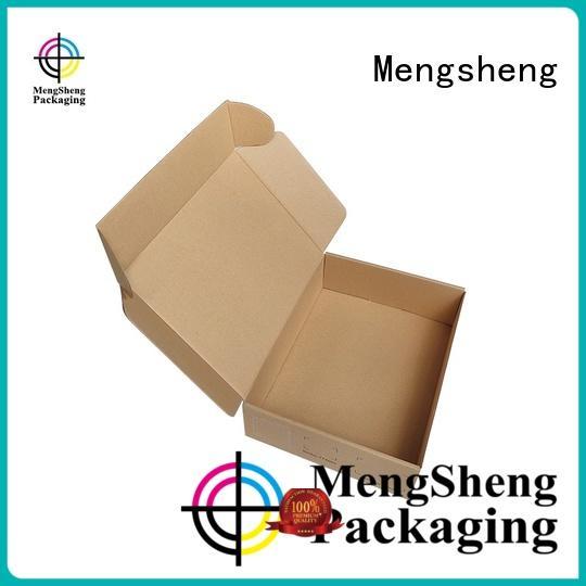 Mengsheng analog cell phone box logo printed for florist