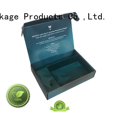 Mengsheng durable cardboard case easy closure swimwear packing