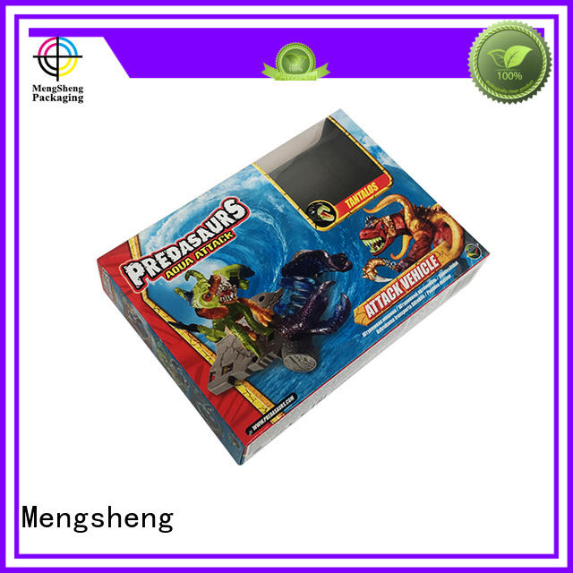 Mengsheng eco-friendly big gift box pvc inserted for fruit packaging