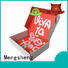 Mengsheng cosmetic packaging packing boxes with ribbon