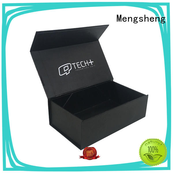 Mengsheng cosmetic packaging packing boxes pink colour with handle