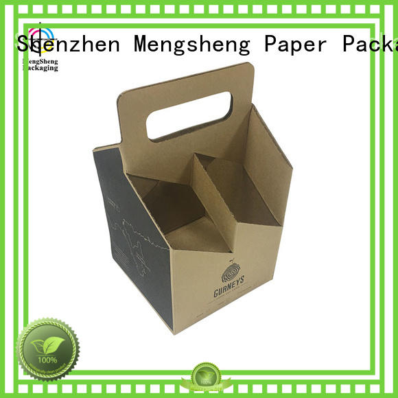 Mengsheng high quality branding package double sides eco friendly