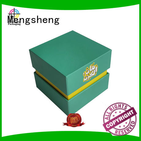 Mengsheng full color custom printed boxes customized at discount