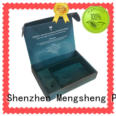 Mengsheng customized custom boxes at discount ectronics packing