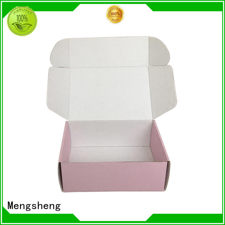 Mengsheng printing design custom boxes oliver oil displaying with handle