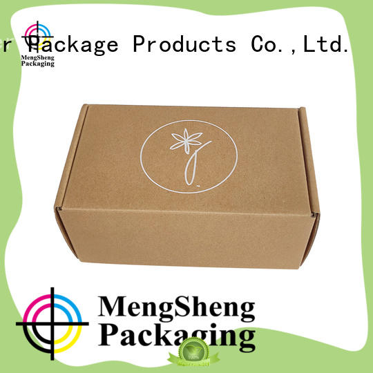 Mengsheng shipping custom shipping boxes strong eco friendly
