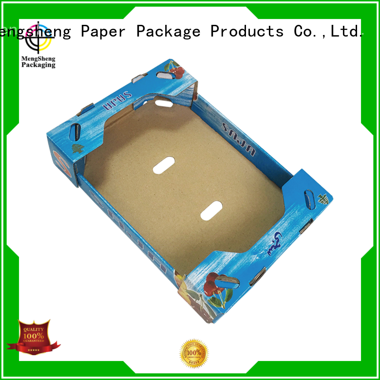 Mengsheng customized extra large gift boxes corrugated with lid