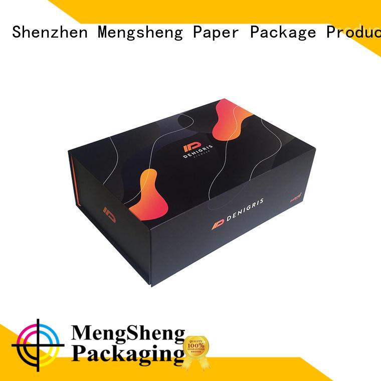 luxury fold flat box waterproof for florist Mengsheng