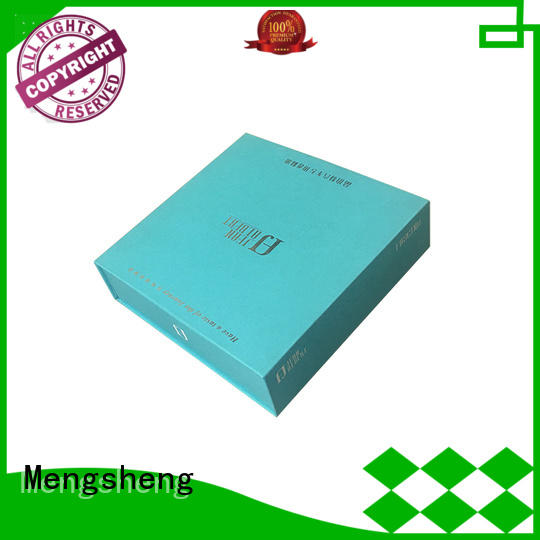 Mengsheng folding perfume sample box cheapest price for sale