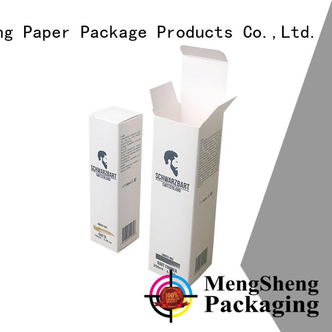 Mengsheng cosmetic packaging packing boxes printing design ectronics packing