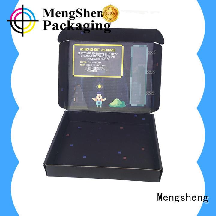 Mengsheng printing corrugated box sizes eco friendly