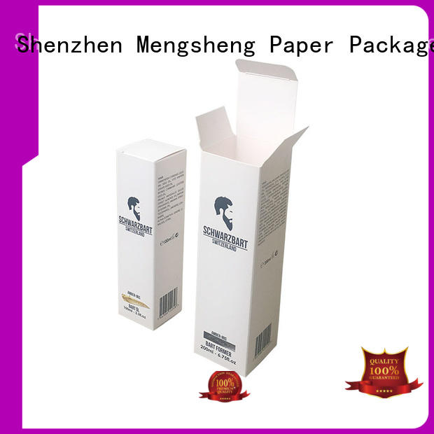 Mengsheng jewelry perfume sample box at discount bulk producion