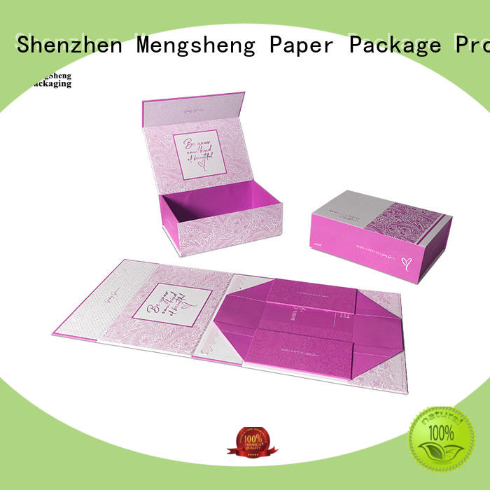 Mengsheng hot-sale magnetic lid gift box carton printed for toy storage