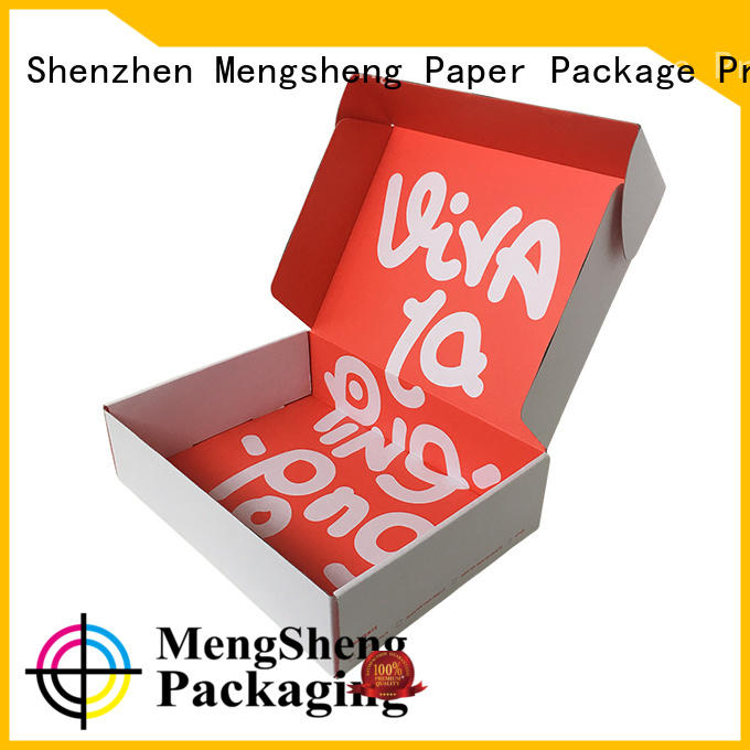 shopping custom boxes at discount ectronics packing Mengsheng
