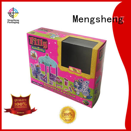 clear window gift boxes online folding design with lid