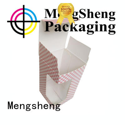 cosmetic packaging packing boxes corrugated cardboard with handle