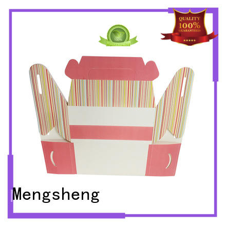 Mengsheng customized Gift Boxes Wholesale free sample with handle