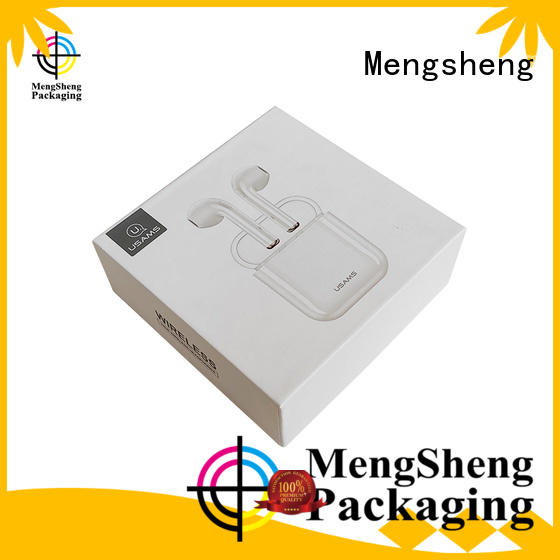 headphones packaging two piece box sturdy ribbon design jewelry packing