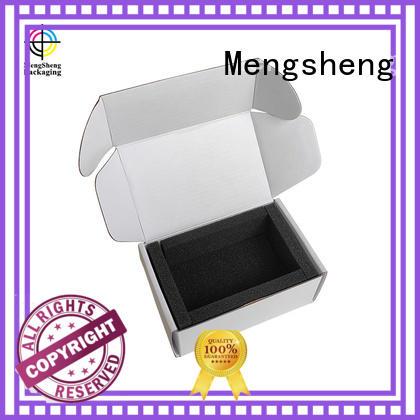 Mengsheng foldable cardboard cube easy closure for florist