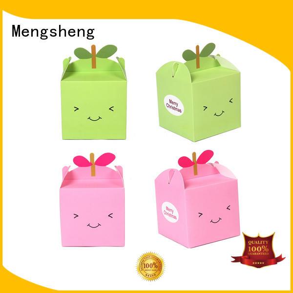 large white gift box free sample for toy storage Mengsheng
