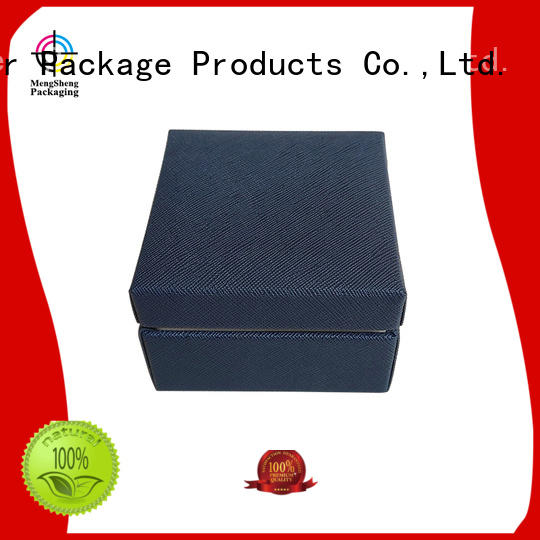 Mengsheng high quality kraft jewelry boxes shoes packing convenient