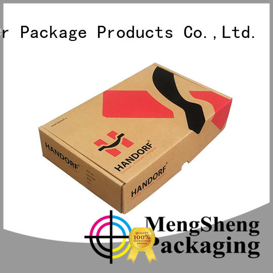 strong mailing box stamping eco friendly Mengsheng