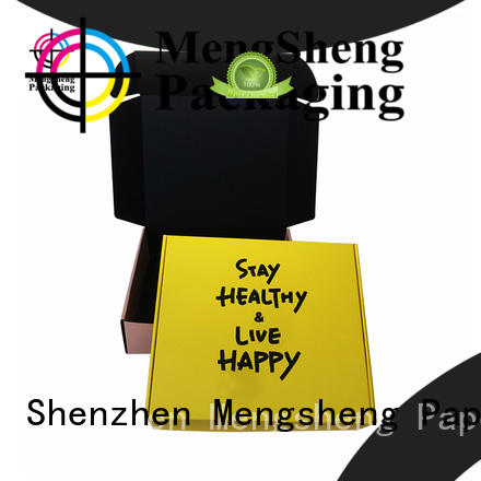 Mengsheng printing design big birthday gift box for business ectronics packing
