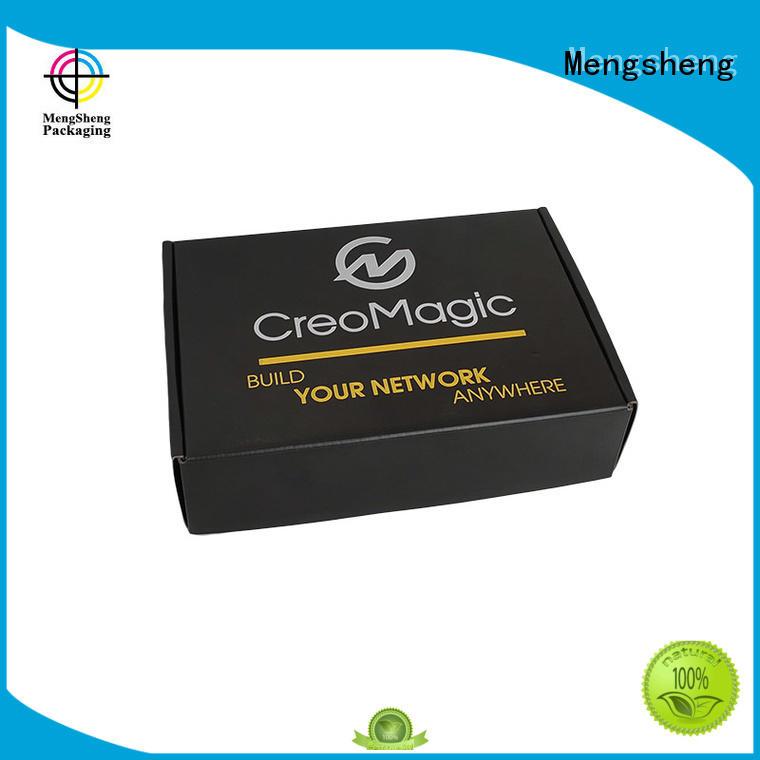 Mengsheng multifunctional cardboard box with lid easy closure swimwear packing