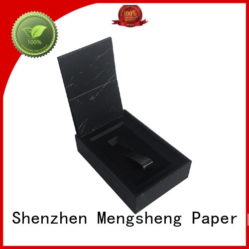 Custom printed design cardboard rigid gift box with lid